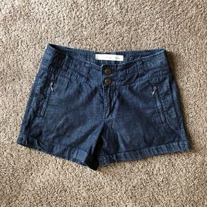ANTHROPOLOGIE Daughters of Liberation denim shorts